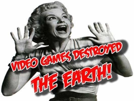 More like, Video Games: Society's scapegoat.