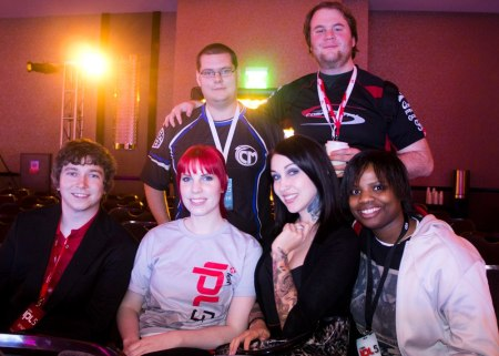 Me and some friends, casters and pro players at IPL5.